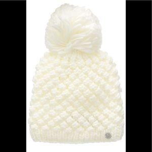 💕 - NWT Women's Spyder Brrr Berry Knit Hat Bea…